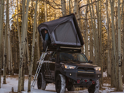 Rooftop Tents for Overlanding Vehicles